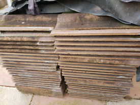 Roof tiles free to collect