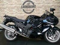 2008 Kawasaki ZX1400, Low Mileage, Panniers.