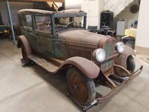 1929 chev touring.  Complete car all original and complete