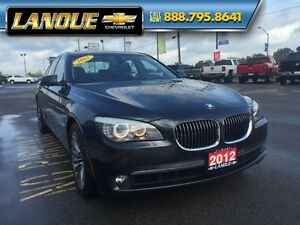 2012 BMW 7 Series 750i   WOW... LOW KMS!!  BEAUTIFUL CAR Windsor Region Ontario image 11