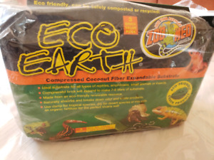 Coconut fiber Eco Earth for reptiles etc.