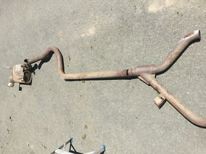 Exhaust system for 2008 Mustang convertible