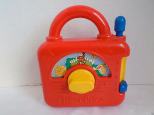 1992 Vintage Fisher Price Kids Wind Up Radio - $15.00