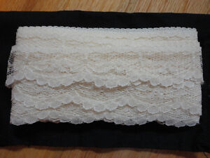Vintage white lace sewing crafts London Ontario image 1