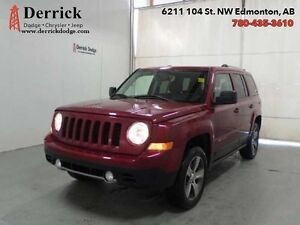 2016 Jeep Patriot 4WD High Altitude Pkg Lthr Sts Sunroof 135 B/W
