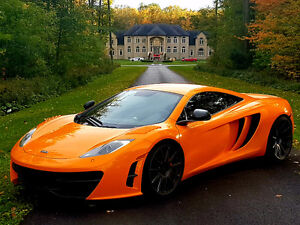 Exotic car rental 1/2hour