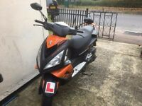 Excellent condition, 13 months old, Peugeot Speedfight, recently serviced