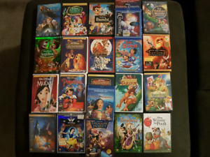 Animated Disney Movies.  HUGE SELECTION.