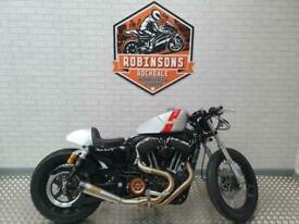 Harley Davidson 1200 custom ltd xl Warrs Harley special.