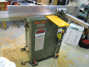 "*ON HOLD* - FS-30 ""MINI-MAX"" 12"" Combination Jointer-Planer -"