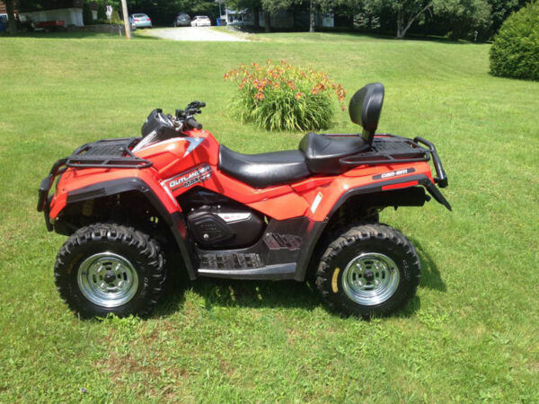 Used 2007 Bombardier outlander max 500 xt