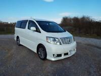 TOYOTA ALPHARD 2.4 V Spec Model MPV Day Van 2004 Petrol Automatic in White