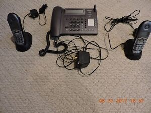Home phone,base and 2 remotes