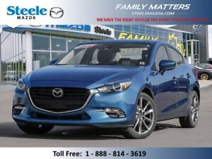 2018 Mazda MAZDA3 GT (Unlimited KM Warranty)