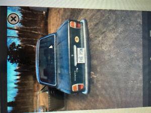 Volvo 142S très rare 1972