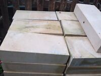 sandstone bricks pallet load