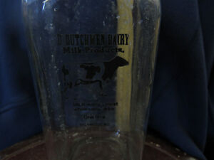 D,DUTCHMEN DAIRY BOTTLE Peterborough Peterborough Area image 1
