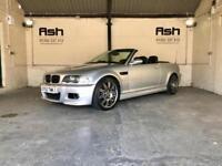 2002 BMW M3 3.2, Convertible, manual, Px Swap