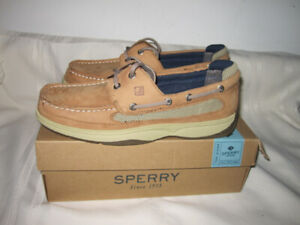 "Men's Size 7 (Sperry Top-Slider) Deck Shoes ""NEW"""