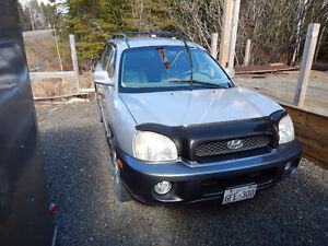 2002 Hyundai Santa Fe GLS SUV, Crossover,sell  in parts