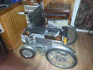 Battery powered Wheelchair for sale