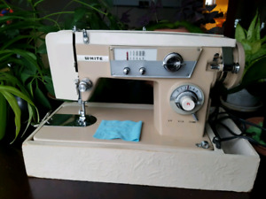 Fully serviced White sewing machine