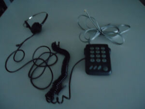 Touch Pad and Headset for Telemarketers