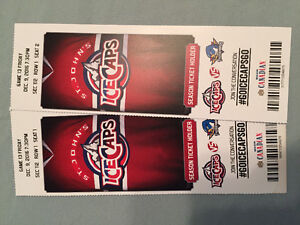 2 Ice Caps tickets for Dec 9th game