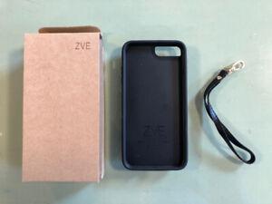 Apple iPhone 7 Plus black wallet case