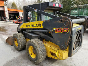 New Holland L180 Skidsteer Loader