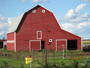 Hip-Roof Barn: For Sale