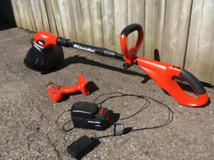 Black & Decker Electric Trimmer Plus Electric Drill