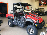 2014 Hisun UTV  HS-500, 4x4 EFI, Fully loaded plus FREE HELMETS