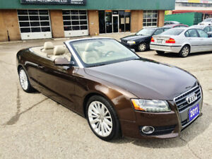 2011 Audi A5 Premium Plus Convertible + Winter Wheels & Tires
