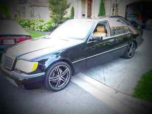 Rare find! Mercedes Benz-S-Class-S320-Short Wheelbase-W140
