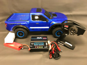 Brushless 1/10 Scale 2WD Ford Raptor, LiPo battery, charger