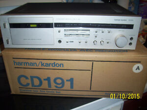 HARMAN/KARDON TAPE DECK CD 191 Windsor Region Ontario image 1