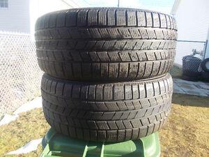 p255/50/19 inch Winter Tires / GOOD DEAL / GOOD TREAD