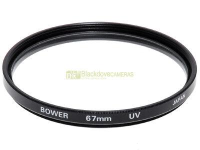 67mm. filtro UV Bower. Ultra Violet filter, made in Japan.