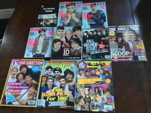 Magazines et livres ONE DIRECTION....à l'état NEUF!!!!!!!!