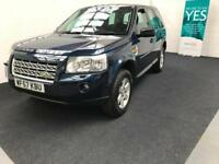 Land Rover Freelander 2 2.2Td4 2008 GS finance available from £30 per week