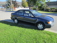 '99 Toyota Tercel CE -Prepare to get some serious tail...wind