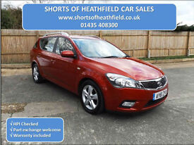Kia Ceed 1.6 CRDi 2 Turbo Diesel - 5 Dr Estate - 6 Speed Manual - 2011 (61)