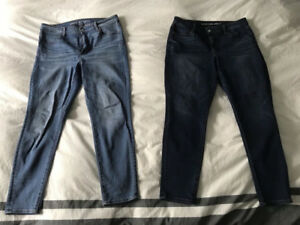 American Eagle High Rise Jeggings Size 14