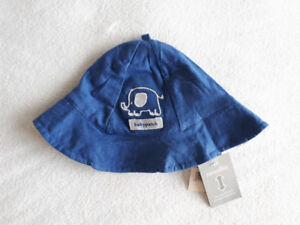 NWT Babypatch reversible sunhat (small)