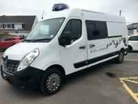 Renault Master LWB 2 berth rear fixed bed campervan conversion for sale