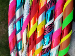 Kids Handmade Hula Hoops
