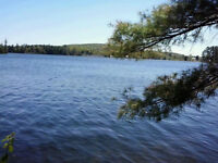 Prime, Lake-Front Cottage Lot (in center of town)