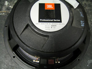 "JBL 12"" Speakers used, 2202 & 2020 Kitchener / Waterloo Kitchener Area image 4"