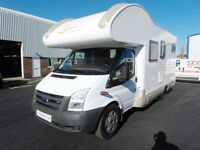 Rimor 6 Berth Motorhome - Rear Garage Layout - LHD - Full Service History